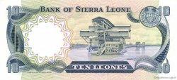 10 Leones SIERRA LEONE  1980 P.08a pr.NEUF
