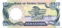 10 Leones SIERRA LEONE  1984 P.08c pr.NEUF