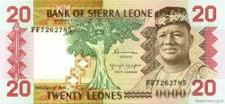20 Leones SIERRA LEONE  1984 P.14b SUP