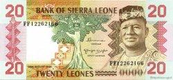 20 Leones SIERRA LEONE  1984 P.14b NEUF