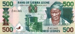 500 Leones SIERRA LEONE  2003 P.23c NEUF