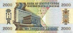 2000 Leones SIERRA LEONE  2000 P.25 TTB+