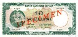 10 Scellini SOMALIE  1962 P.02s NEUF