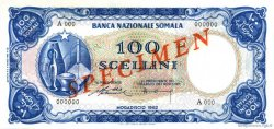 100 Scellini SOMALIE  1962 P.04s pr.NEUF