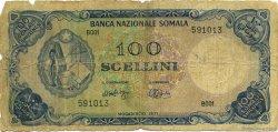 100 Scellini SOMALIE  1971 P.16a AB