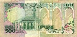 500 Shilin SOMALIE  1989 P.36a TTB