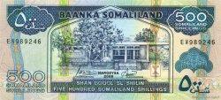 500 Shillings SOMALILAND  2006 P.06f NEUF