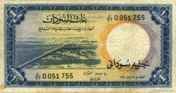 1 Pound SOUDAN  1961 P.08a TB à TTB