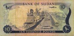 10 Pounds SOUDAN  1972 P.15b TB