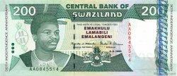 200 Emalangeni SWAZILAND  1998 P.28a pr.NEUF
