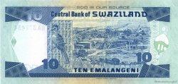 10 Emalangeni SWAZILAND  2006 P.29c NEUF