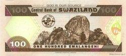 100 Emalangeni SWAZILAND  2001 P.32a pr.NEUF