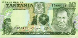10 Shilingi TANZANIE  1978 P.06a NEUF