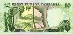 10 Shilingi TANZANIE  1978 P.06b SPL