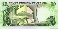 10 Shilingi TANZANIE  1978 P.06c pr.NEUF