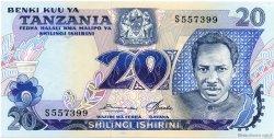 20 Shilingi TANZANIE  1978 P.07a NEUF