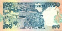 100 Shilingi TANZANIE  1986 P.14a pr.NEUF
