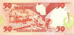 50 Shilingi TANZANIE  1992 P.19 SUP