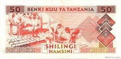 50 Shilingi TANZANIE  1993 P.23 SUP