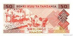 50 Shilingi TANZANIE  1993 P.23 NEUF