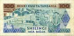 100 Shilingi TANZANIE  1993 P.24 TTB