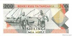 200 Shilingi TANZANIE  1993 P.25b NEUF