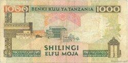 1000 Shilingi TANZANIE  1993 P.27a TB+