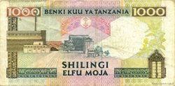 1000 Shilingi TANZANIE  1997 P.31 TTB