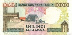 1000 Shilingi TANZANIE  2000 P.34 TTB+