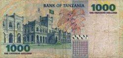 1000 Shilingi TANZANIE  2003 P.36a TB