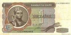1 Zaïre ZAÏRE  1979 P.19a TTB+