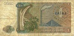 1 Zaïre ZAÏRE  1981 P.19b TB