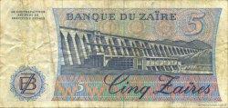 5 Zaïres ZAÏRE  1982 P.26a TTB