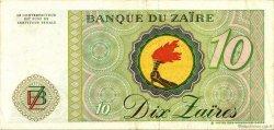 10 Zaïres ZAÏRE  1985 P.27A TTB