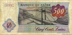 500 Zaïres ZAÏRE  1984 P.30a TB+