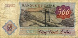 500 Zaïres ZAÏRE  1985 P.30b TB