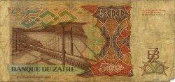 500 Zaïres ZAÏRE  1989 P.34a B