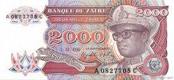 2000 Zaïres ZAÏRE  1991 P.36a SUP+
