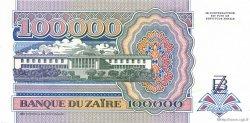 100000 Zaïres ZAÏRE  1992 P.41a pr.NEUF