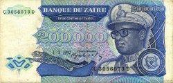 200000 Zaïres ZAÏRE  1992 P.42a TTB