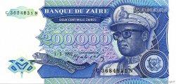 200000 Zaïres ZAÏRE  1992 P.42a NEUF