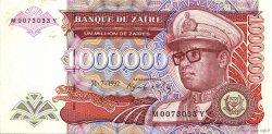 1000000 Zaïres ZAÏRE  1992 P.44 SUP