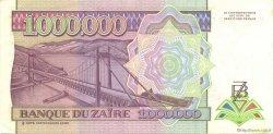 1000000 Zaïres ZAÏRE  1993 P.45b SUP