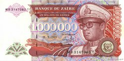 1000000 Zaïres ZAÏRE  1993 P.45b pr.NEUF