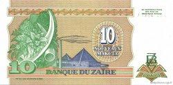 10 Nouveaux Makuta ZAÏRE  1993 P.49 NEUF