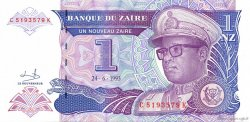 1 Nouveau Zaïre ZAÏRE  1993 P.52 NEUF