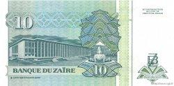 10 Nouveaux Zaïres ZAÏRE  1993 P.54 NEUF