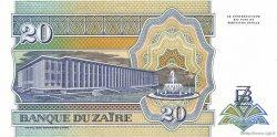20 Nouveaux Zaïres ZAÏRE  1993 P.56 NEUF
