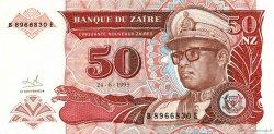 50 Nouveaux Zaïres ZAÏRE  1993 P.57 NEUF