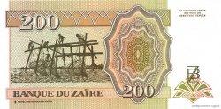 200 Nouveaux Zaïres ZAÏRE  1994 P.61 NEUF